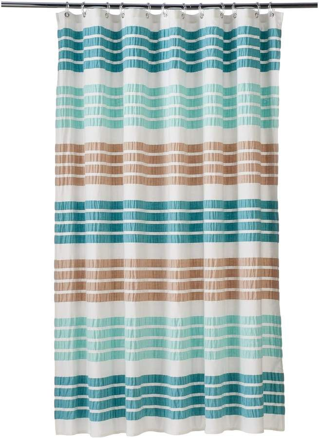 Sonoma Goods For Life Shell Island Technique Shower Curtain