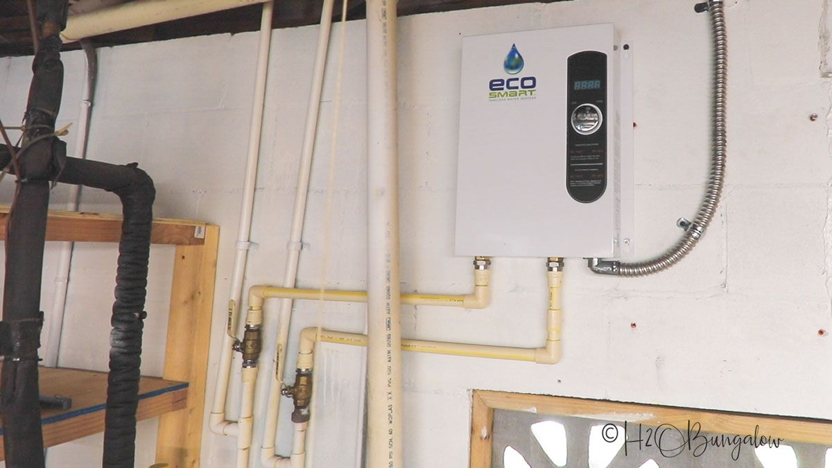 How To Install a Tankless Water Heater Diy heater, Water