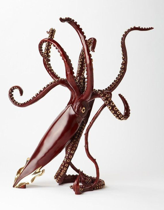 Giant Squid Sculpture In 2019 Products Pinterest Sculpture