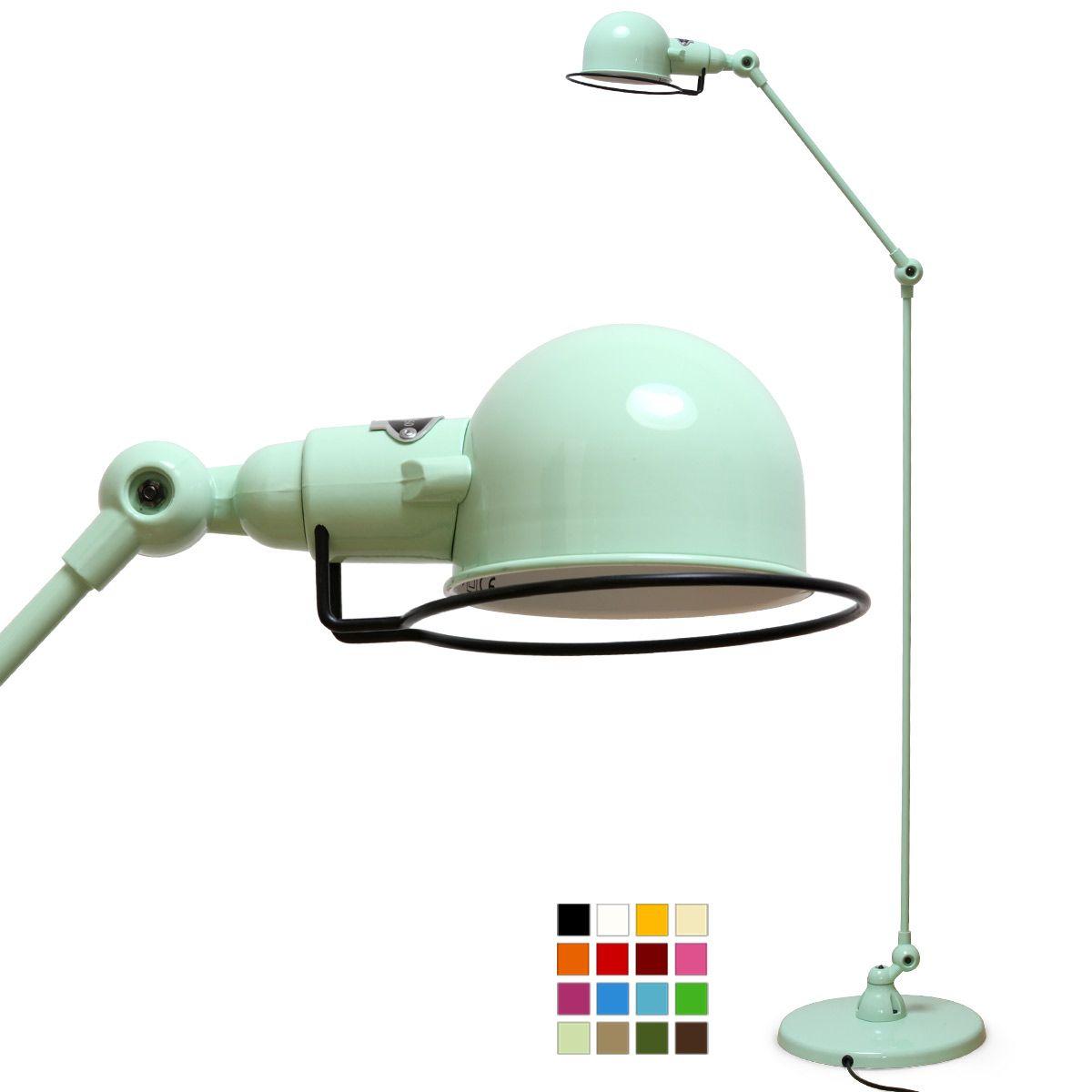 SIGNAL Gelenk-Stehlampe, ideal als Leseleuchte von Jieldé