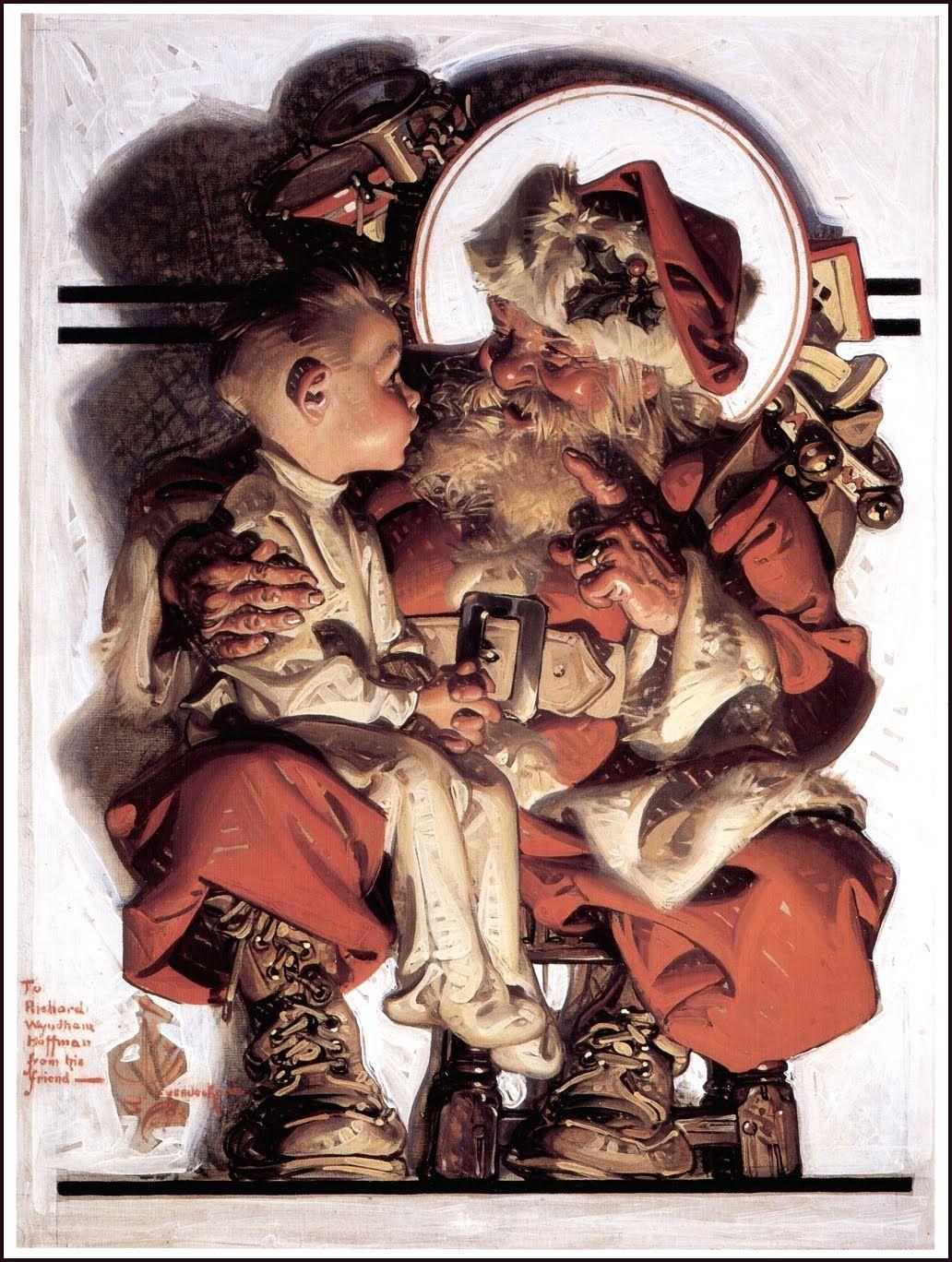 J C Leyendecker クリスマス イラスト ライエンデッカー