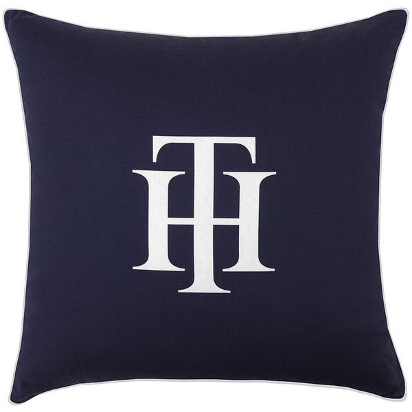 Tommy Hilfiger College Cushion 40x40cm Navy 40 Liked On Best Tommy Hilfiger Decorative Pillows