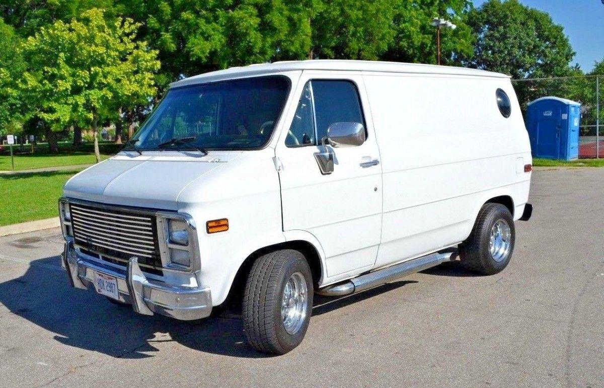 V8 Shorty Swap 1988 Chevrolet G10 Van Van Chevrolet Van Custom Vans
