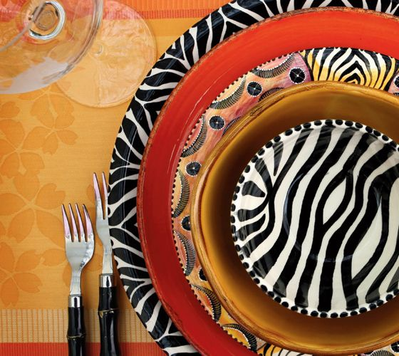 South African-inspired Pottery Hand Painted By Artisans In