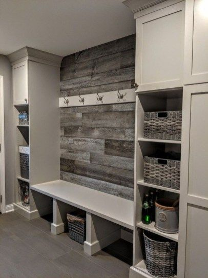 30+ Awesome Mudroom Entryway Decorating Ideas is part of  - A mudroom can keep wet and cold weather at bay  It's the perfect transition for removing coats, boots and other […]