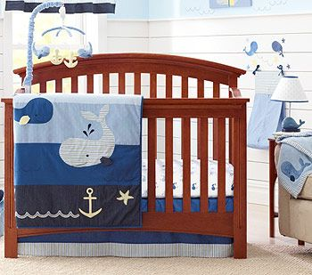 Nautica Kids Brody 4 Piece Crib Bedding Set Nautical Nursery