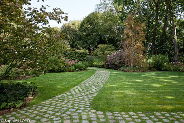 Un jardin en normandie christian fournet paysagiste for Paysagiste entretien espaces verts