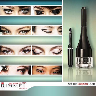 Nos encanta probar nuevas tendencias de maquillaje de ojos, como la de formas geométricas en párpados. Intenta alguno de éstos con el Waterproof Gel Eyeliner y cuéntanos ¿qué estilo te gusta más? (Foto: fashionising.com)