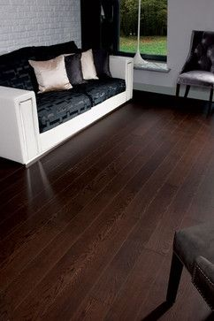 Oak Dark Chocolate Traditional Wood Flooring Toronto