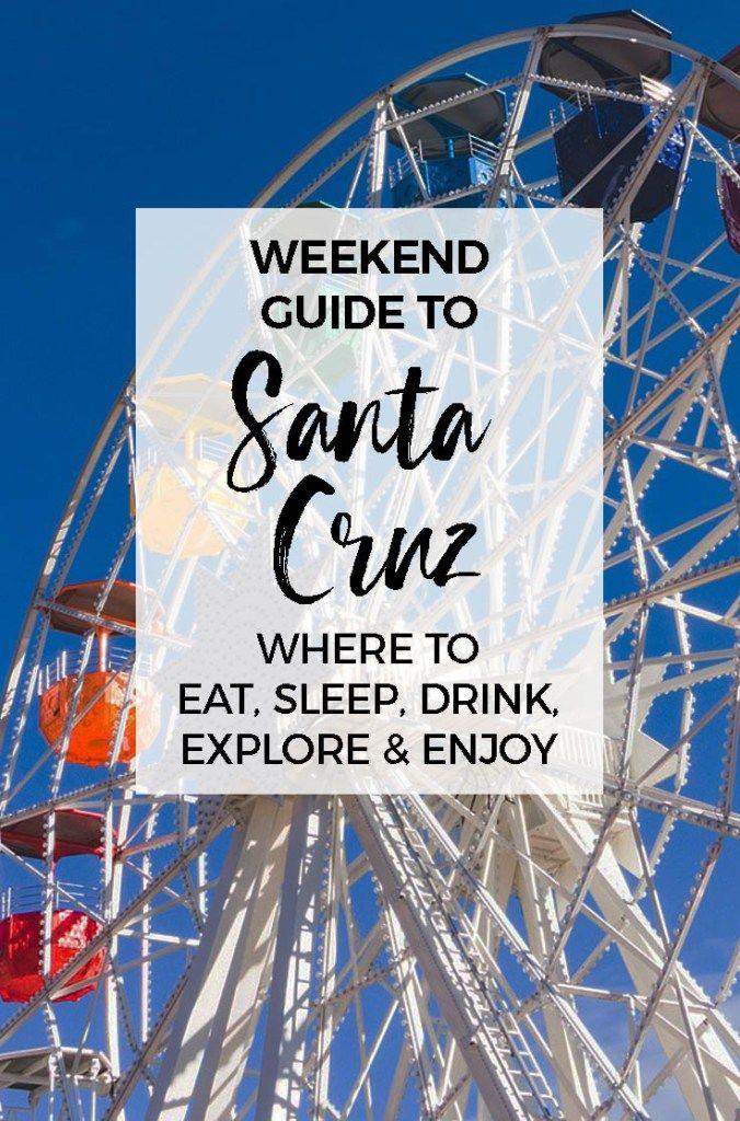 Weekend Guide to Santa Cruz :: 10 Best Things To Do in Santa Cruz, California :: Places to eat, drink, sleep and explore. #santacruz #california #travelguide #roadtrip