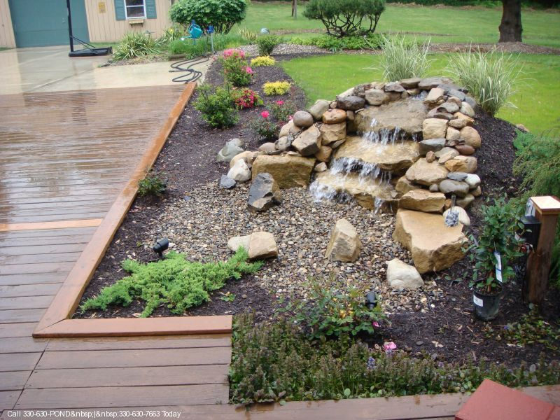 A pondless waterfall Really really love this Fish tanks