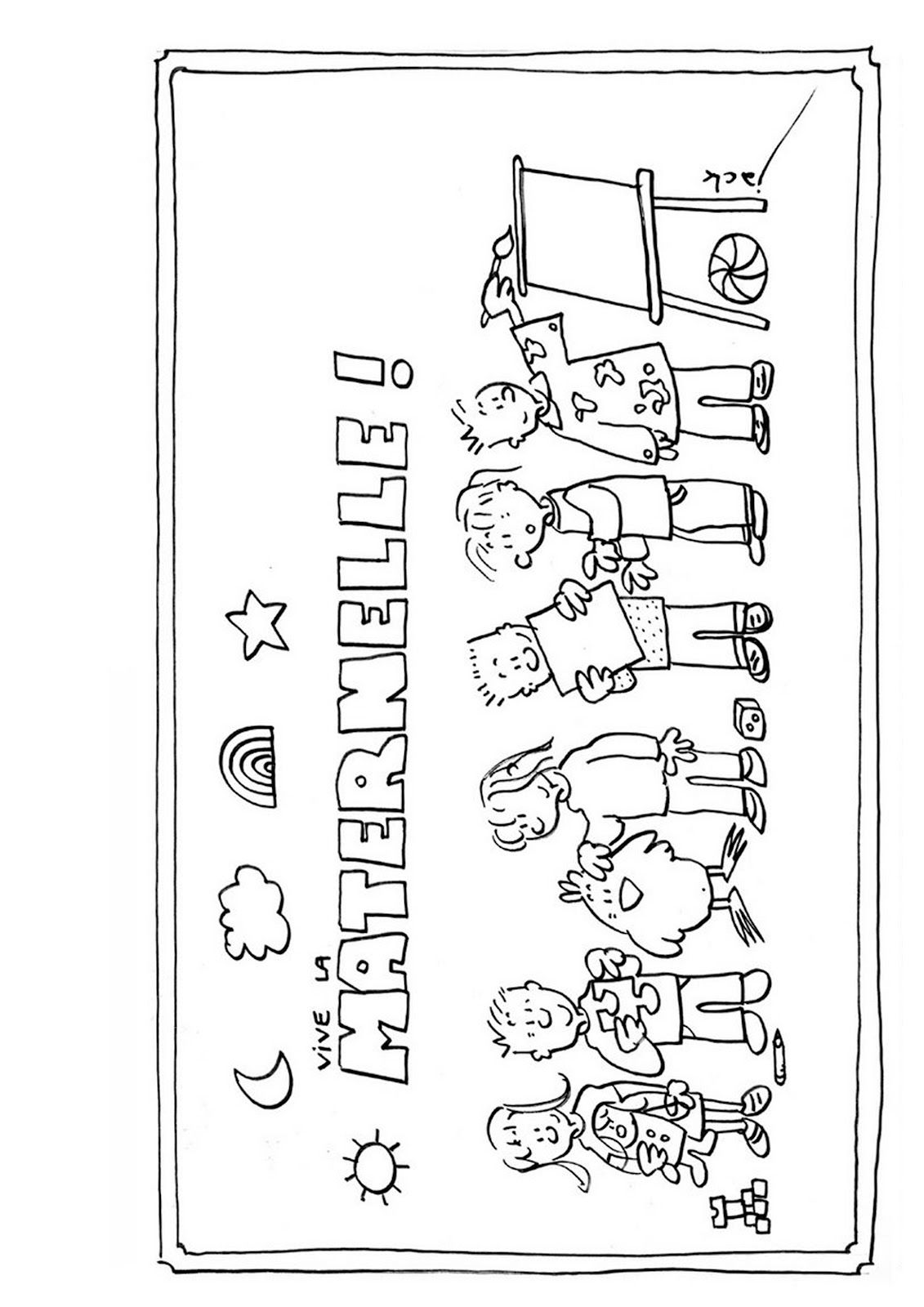 Danger cole affichages utiles en vrac direction pinterest maternelle scolaire et - Dessin maitresse ecole ...