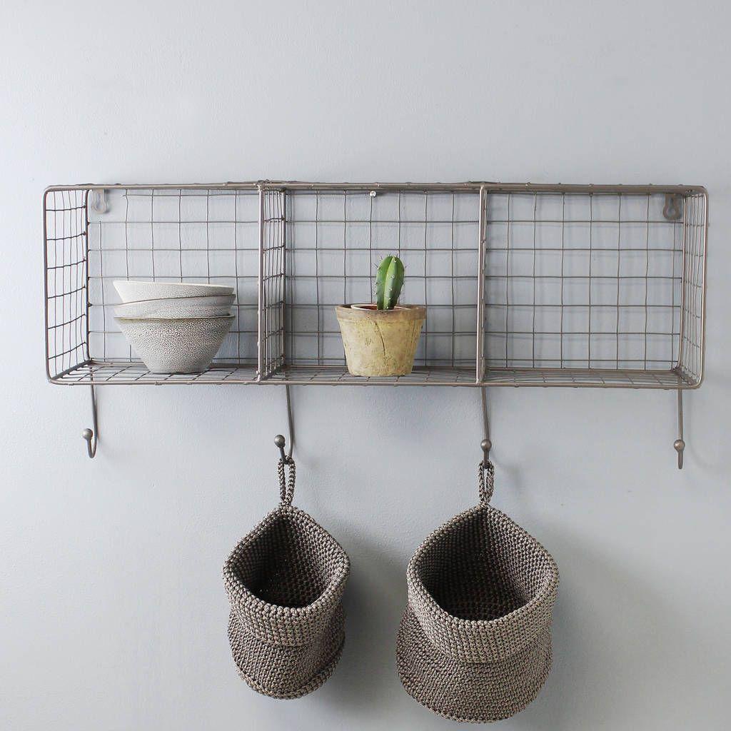 wire bathroom shelf
