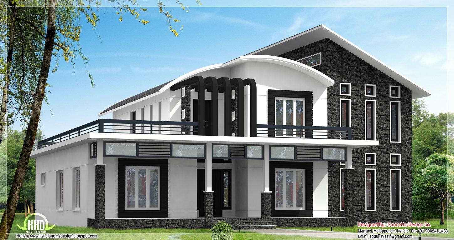 Unique homes unique home design can be 3600 or for Minimalist house design kerala
