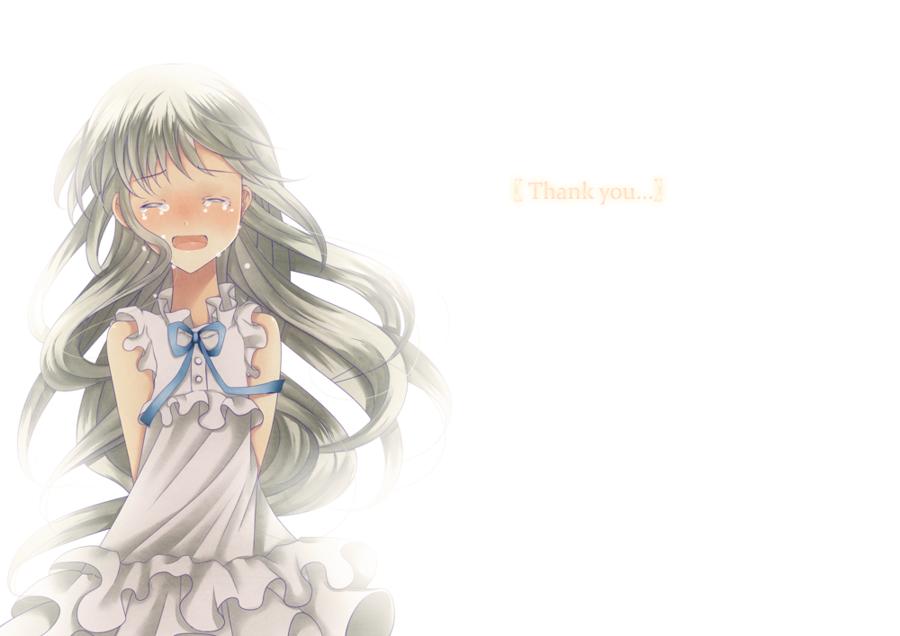 Thank you.. :: Menma // Anohana