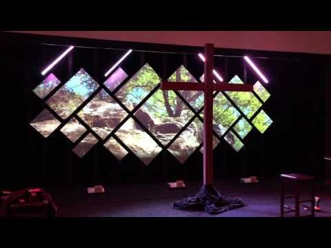 diamond projection church stage design ideas - Concert Stage Design Ideas