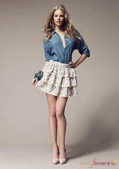 967b96d3fe faldas y blusas modernas Más