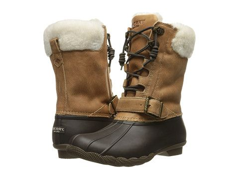 Sperry Top Sider Saltwater Misty Boots Womens Rain