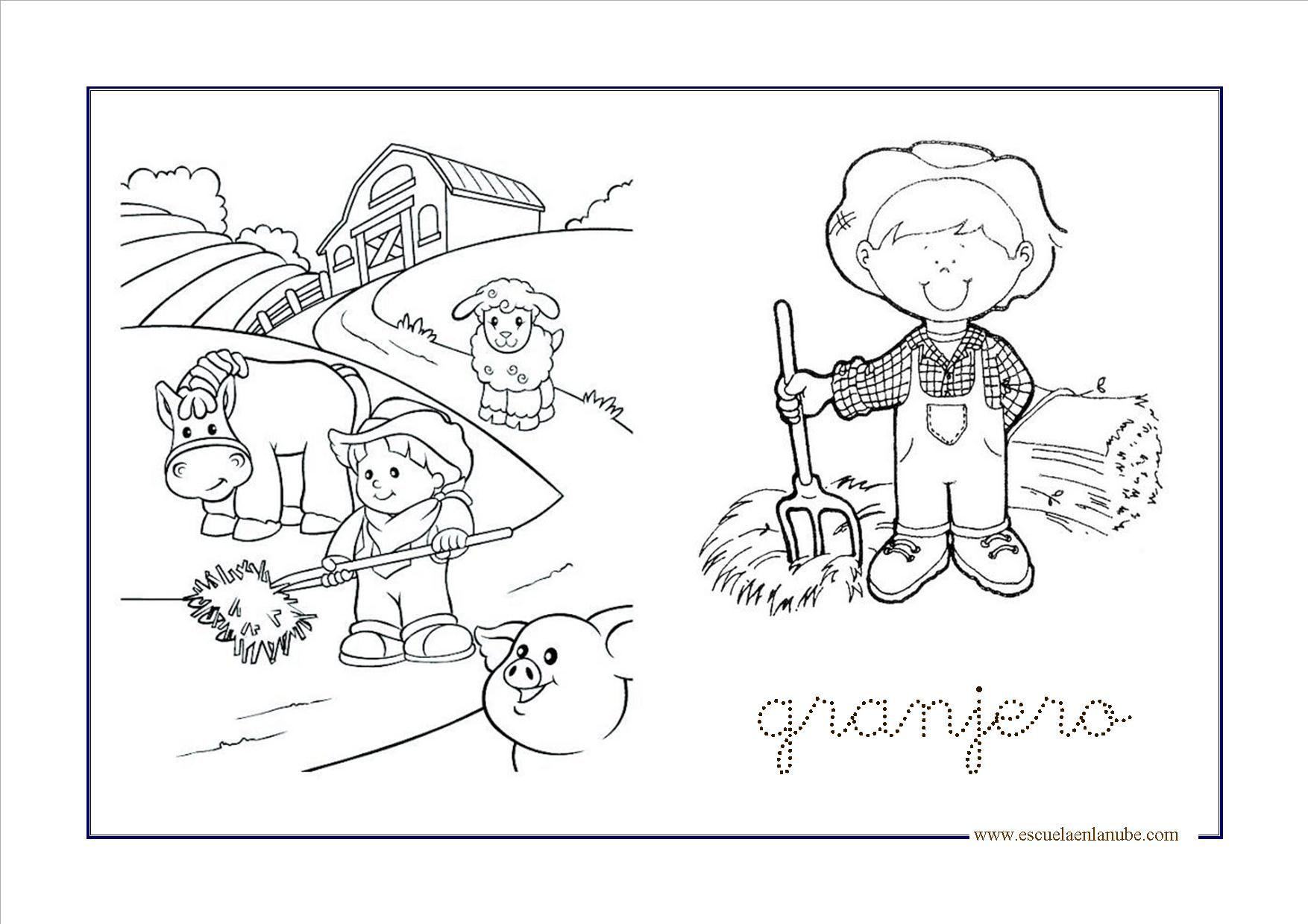 granja1 300x212 | DRAWING | Pinterest | Animales de la granja, La ...