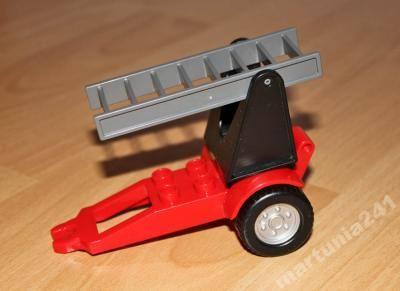 Lego Duplo Straż Przyczepa Z Drabiną Kid Duplo Czesci Lego Duplo