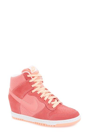 best sneakers 0421b 42d7e Nike  Dunk Sky Hi - Essential  Wedge Sneaker (Women) available at  Nordstrom