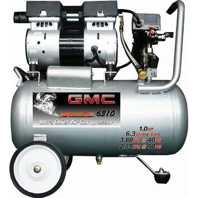 Gmc Syclone 6310 Ultra Quiet Oil Free Air Compressor Syclone