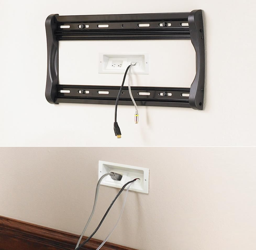 in wall wiring guide for home a v hiding speaker wires hide tv [ 978 x 953 Pixel ]