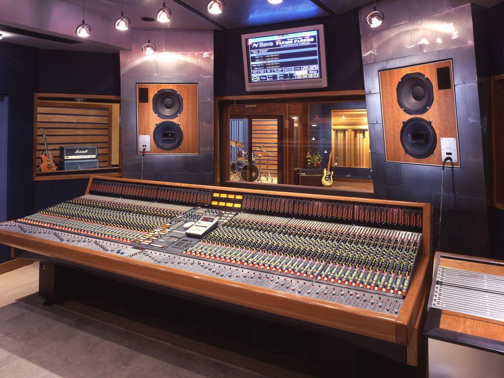 Fm design recording studio portfolio recording studio for Music recording studio layout