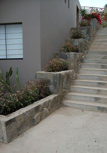 Escaleras piedra y concreto buscar con google escaleras rusticas pinterest escaleras - Escaleras rusticas ...