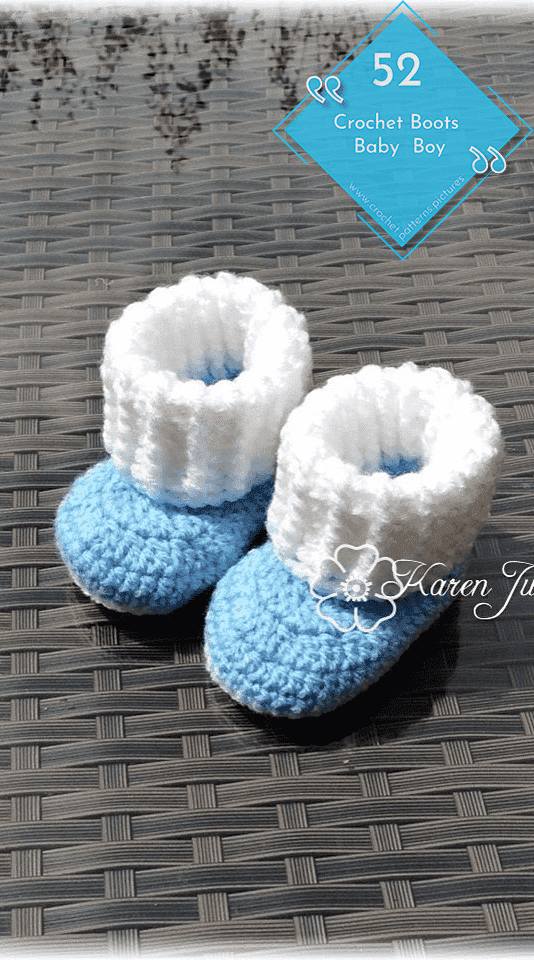 Photo of 52 Crochet Boots With Modern Patterns For Baby Boys. Advice Model: 25