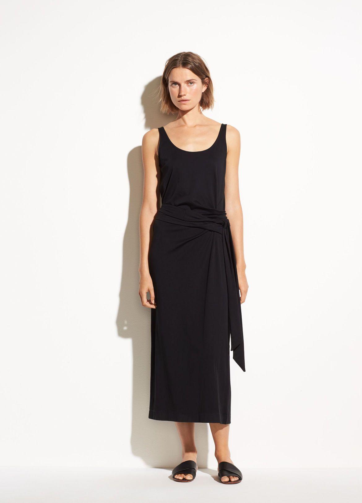 Women S New Arrivals Vince Cotton Wrap Dress Wrap Dress Womens Dresses [ 1628 x 1170 Pixel ]