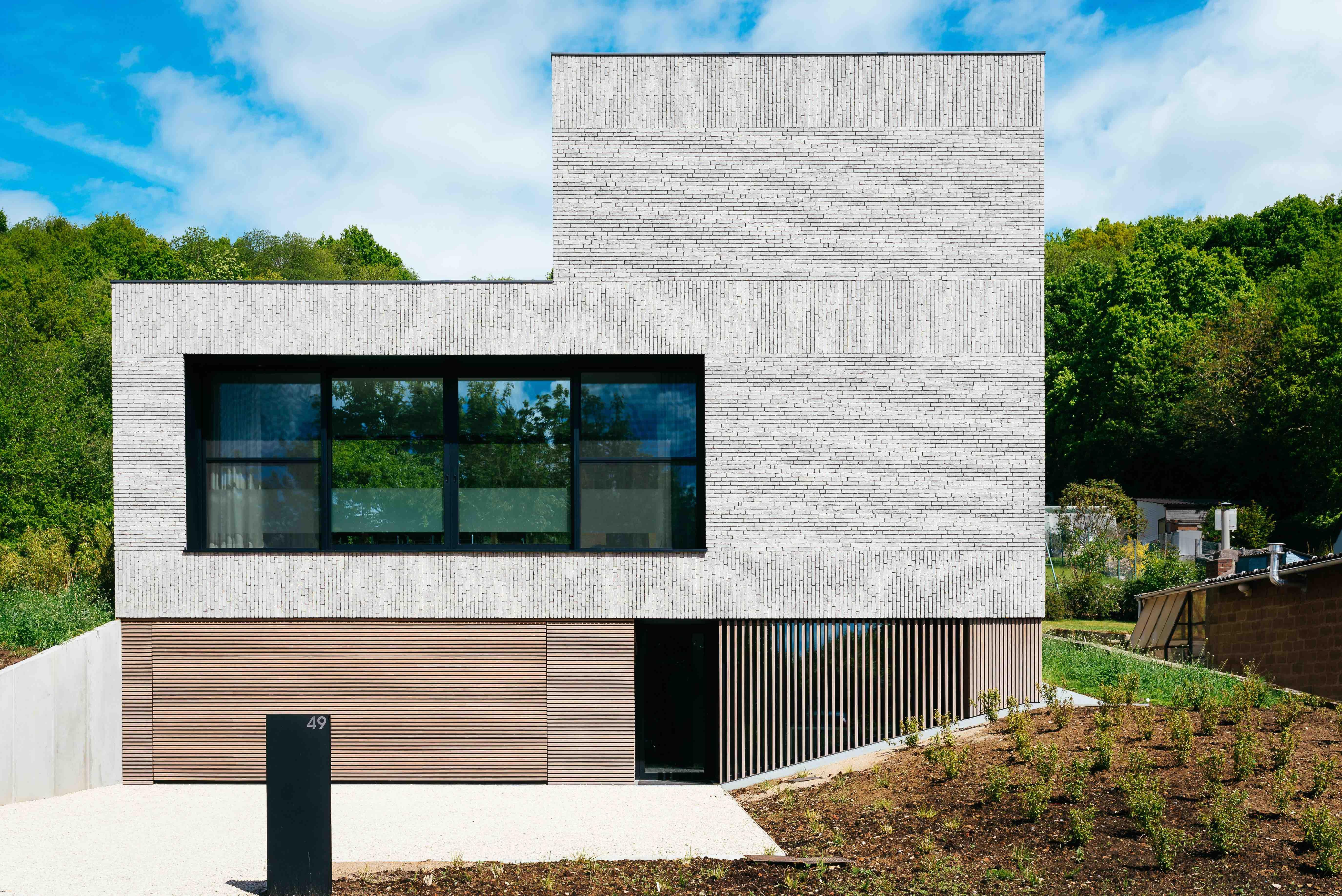 Oh architecten leuven huizen pinterest maison for Projet maison contemporaine