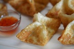 Crab rangoon Inspiration for what I cook in my...   Tango Mango