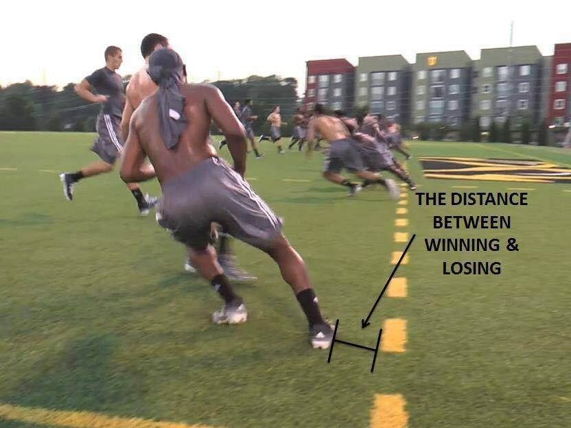 The Difference Between Winning And Losing Changing The Game