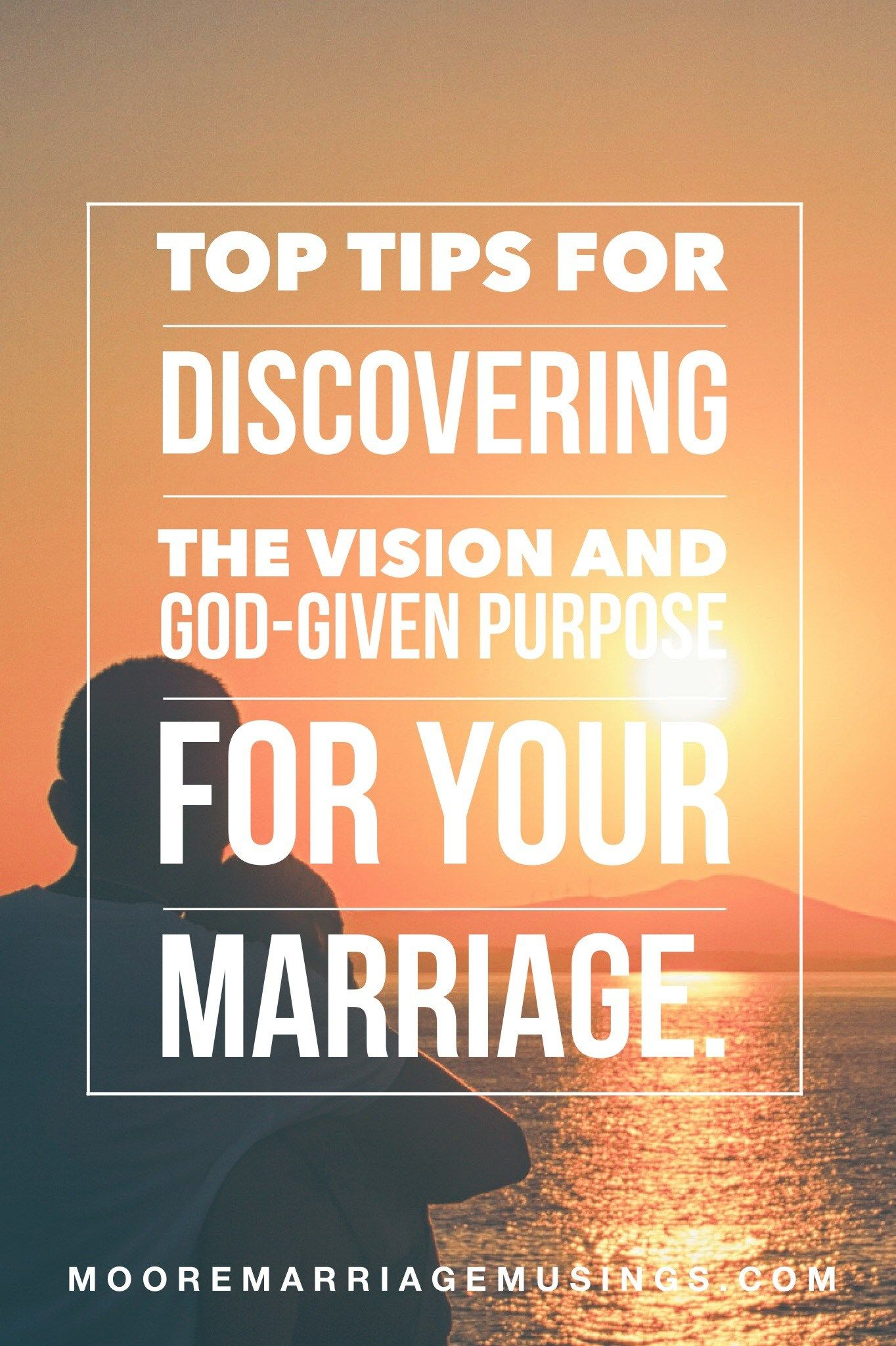What is your marriage vision? | Spiritual Practices and
