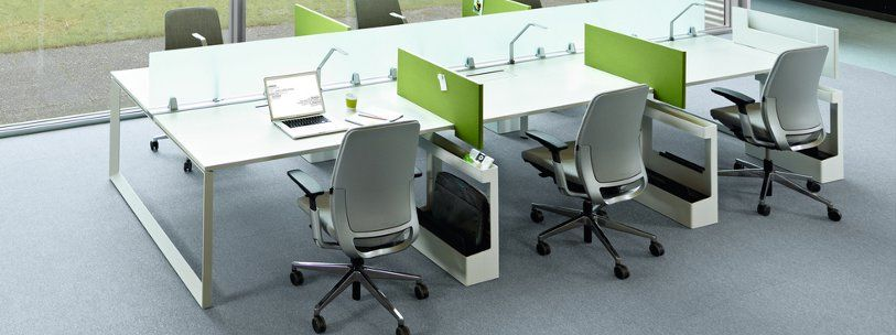 work table office. steelcase frameone bench desk work table office