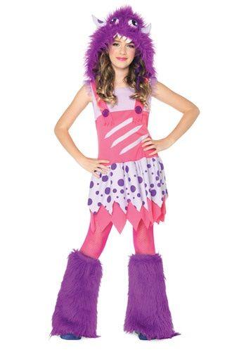 Girls Furball Monster Halloween Costume Halloween Pinterest - halloween teen costume ideas