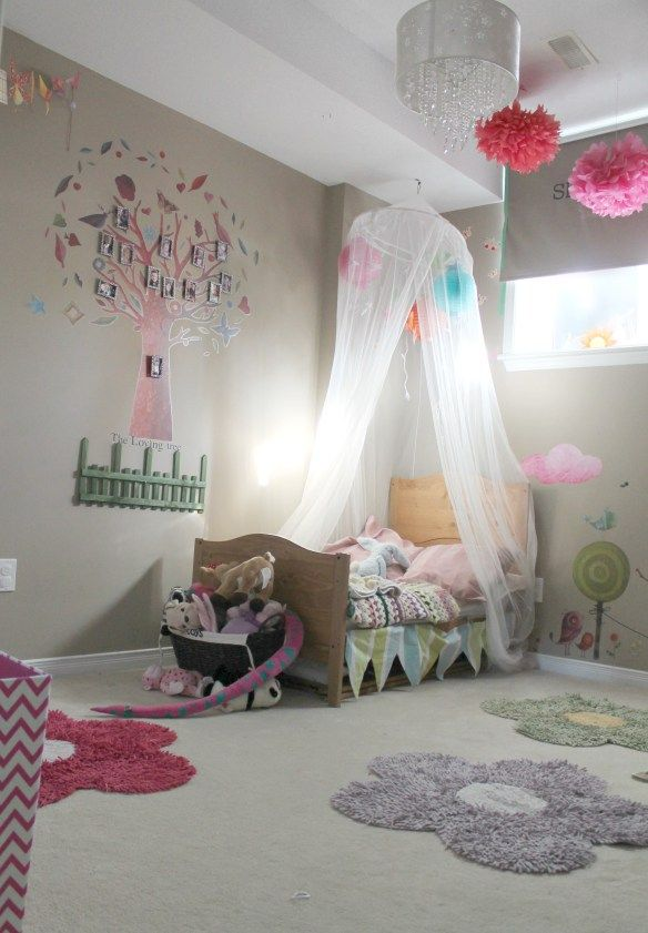 Exceptionnel Reference About Toddler Girl Bedroom Ideas On A Budget. Cute Ideas For Little  Girl Rooms Decorations That Make Your Daughter Like Princess.