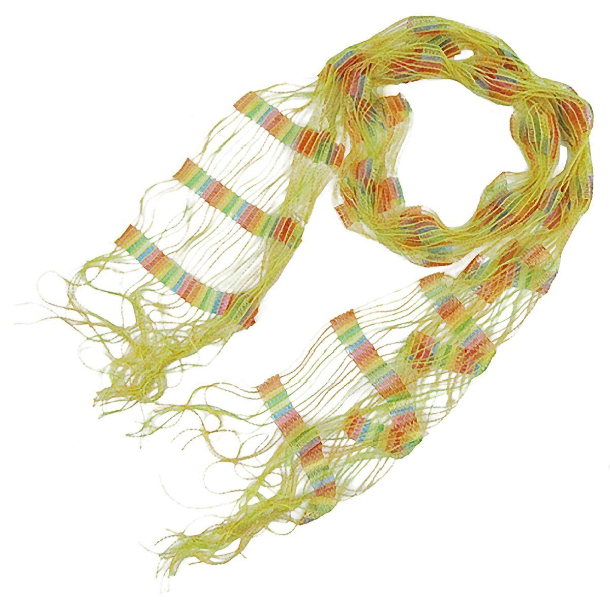 Open Weave Bright Color Scarf