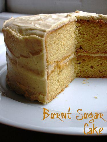 Burnt Sugar Cake Recipe Pennsylvania