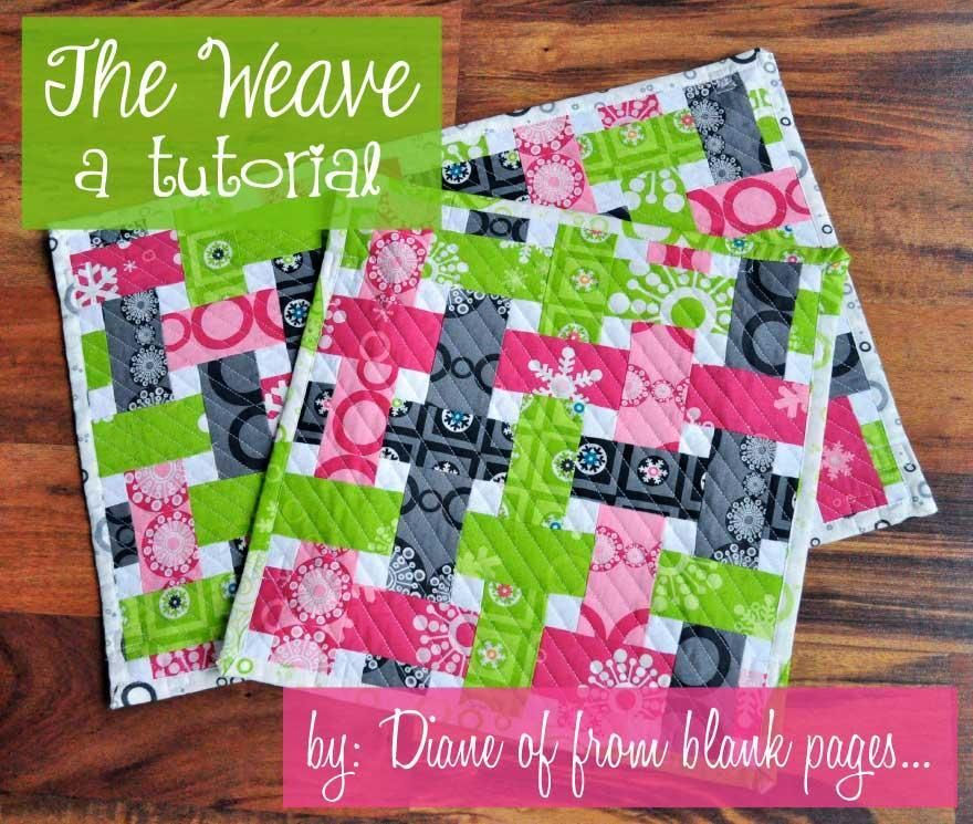 Looking for quilting project inspiration? Check out The Weave a ... : weave quilt pattern - Adamdwight.com