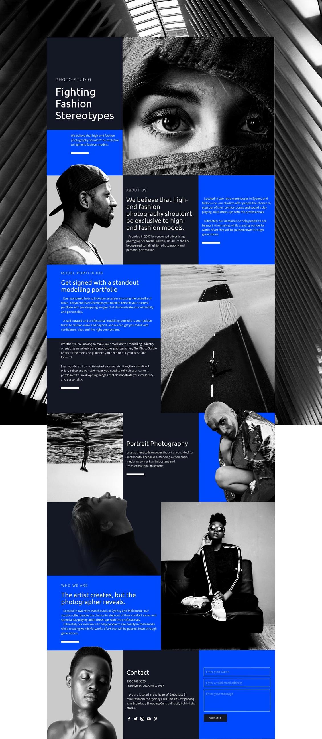 Nicepage Is Your First Website Designer With Revolutionary Natural Positioning Element Overlappi Diy Website Design Business Web Design Fashion Website Design