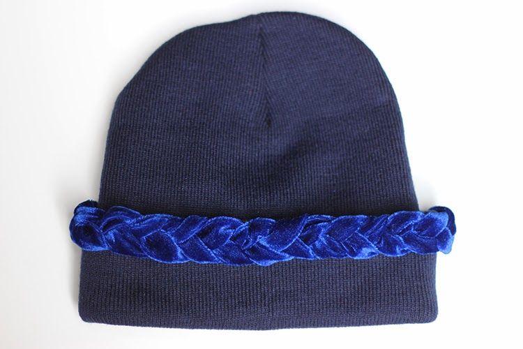 ♥ DIY - La semaine du bonnet - Episode 2 : Tressé ♥ www.tiboudnez.blogspot.com