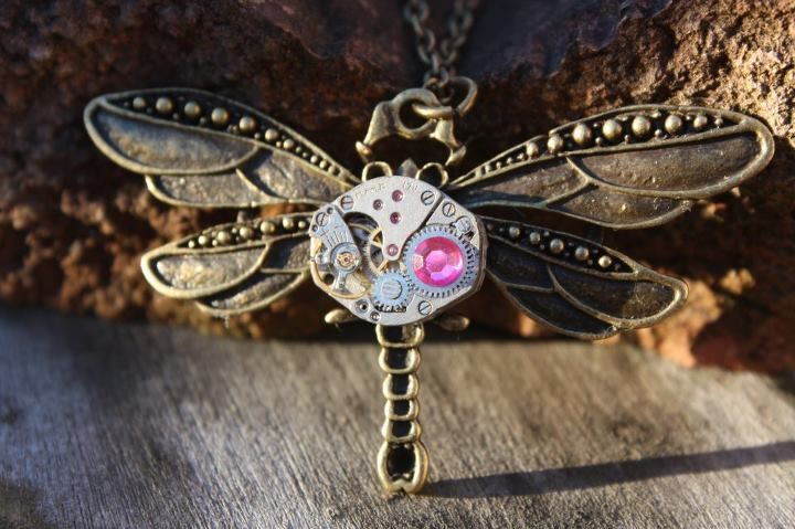 Matthew Lowe's Designs - Dragon Fly necklace