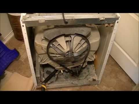 Dryer Drum Bearing Kit Replacement How To Repair Frigidaire