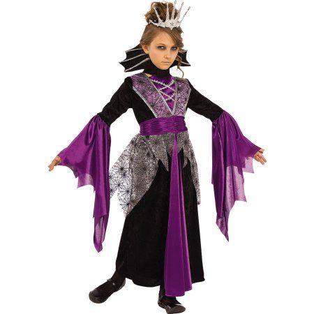 Queen V&ire Girls Halloween Costume | Halloween Costumes | Pinterest | Halloween costumes Purple halloween and Costumes  sc 1 st  Pinterest & Queen Vampire Girls Halloween Costume | Halloween Costumes ...