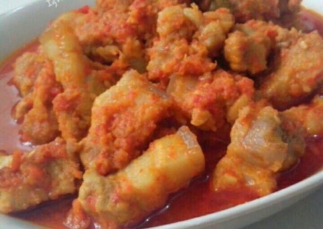 Resep Babi Rica Oleh Igna Cooking Resep Resep Babi Resep Masakan Indonesia Resep