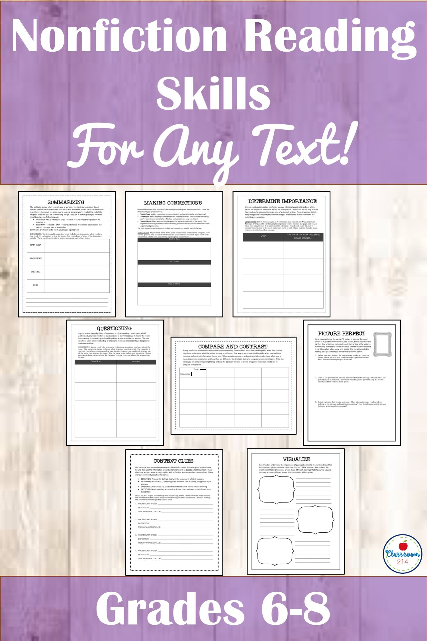 Common Core Informational Texts And Nonfiction Reading