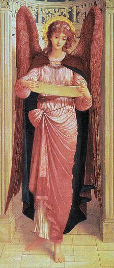 John Melhuish Strudwick (English, 1849-1937) ~ An Angel
