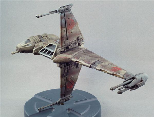 "AMT/Ertl 1/94 ""Star Wars"" B-wing Fighter - Online Reader Gallery - FineScale Modeler - Finescale Modeler Community"